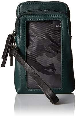 Kenneth Cole Reaction Must Haves Top Zip Phone Wristlet with RFID