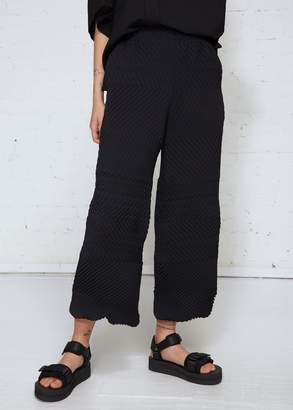 Issey Miyake Fuzzy Solid Pants