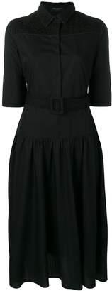 Piazza Sempione belted shirt dress