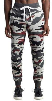 True Religion MENS LOGO CAMO JOGGER