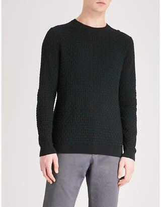HUGO Crewneck knitted jumper