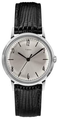 Timex Marlin Watch in Black