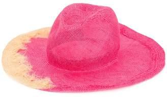 Yoshio Kubo Yoshiokubo x Kijimatakayukitie dye panama hat
