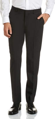 SABA Drew Black Wool Suit Pant