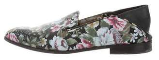 Alexander McQueen Floral Patterned Loafers