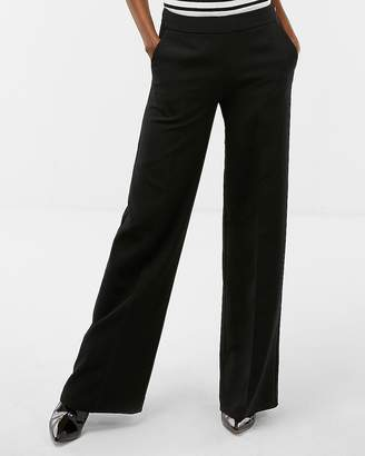 Express High Waisted Wide Leg Dress Pant