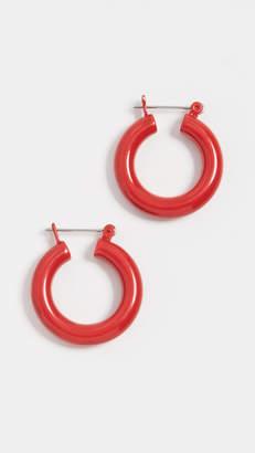 Luv Aj The Rainbow Baby Amalfi Hoop Earrings