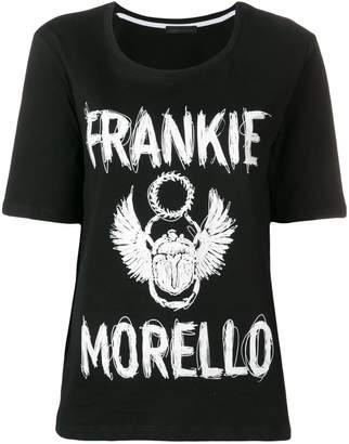Frankie Morello logo round neck T-shirt