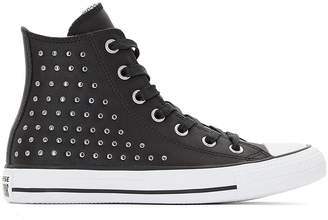 Converse CTAS Hi Studs Leather High Top Trainers 574e25991