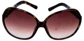 Tory Burch Gradient Oversize Sunglasses