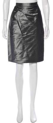Aspesi Pleated-Accent Mini Skirt