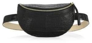 Nancy Gonzalez Crocodile Belt& Shoulder Bag