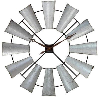 Buy Wayfair Cherrywood 39 Farmhouse Windmill Wall Clock!