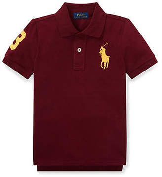 Ralph Lauren Little Boy's Kid's Cotton Mesh Polo Shirt