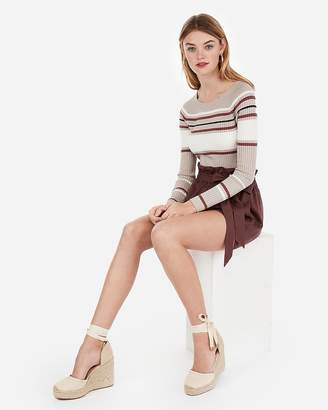 Express Closed Toe Espadrille Wedges