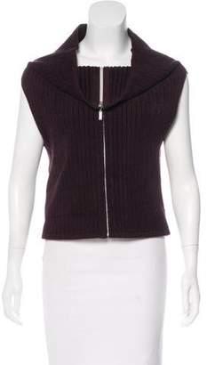 Chanel Knit Turtleneck Vest