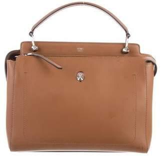 Fendi Leather Dotcom Satchel