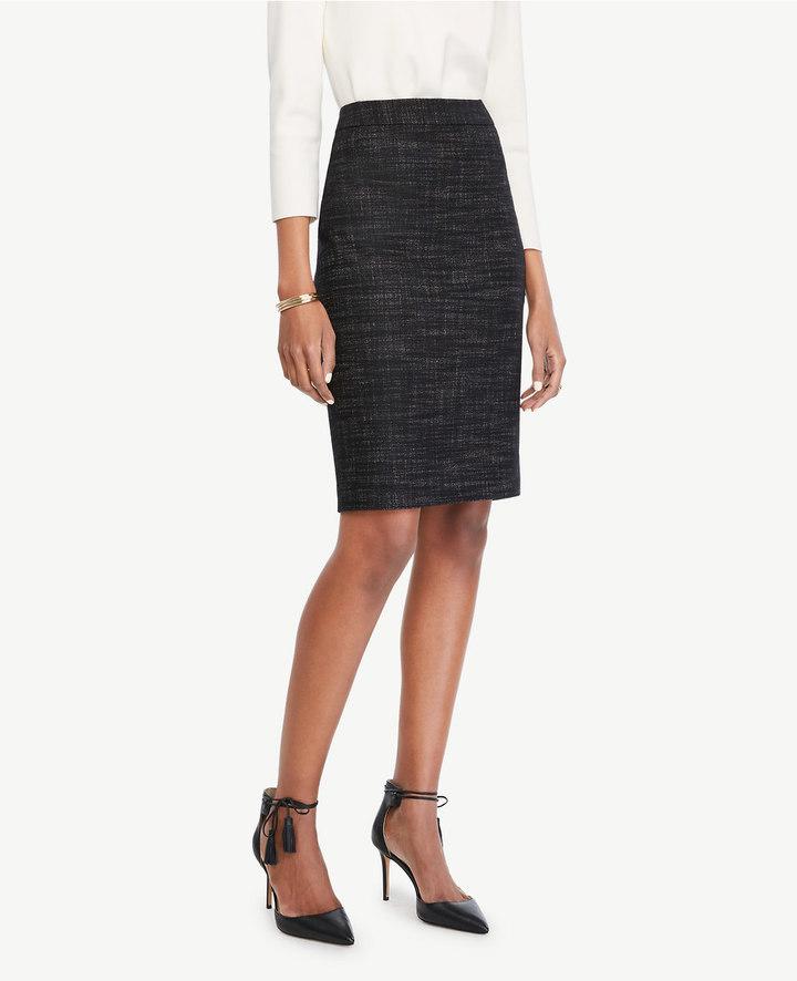 Ann TaylorPetite Cross Stitch Pencil Skirt