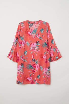 H&M H & M+ Patterned Dress - Coral/patterned - Women