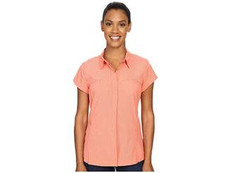 Exofficio Air Spacetm Short Sleeve Shirt Women's Clothing