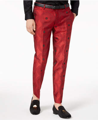 INC International Concepts I.N.C. Men's Slim-Fit Circle Pants, Created for Macy's