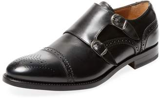 Antonio Maurizi Men's Double Monkstraps Shoe