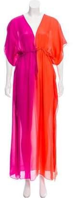 Kiki de Montparnasse V-Neck Maxi Dress