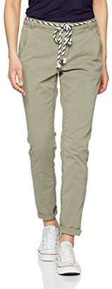 Tom Tailor Women's Chino with Belt Trousers,W32/L30