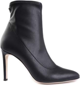 Giuseppe Zanotti Celeste Stretch-leather Booties