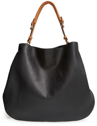 Sole Society 'Capri' Faux Leather Tote - Black $64.95 thestylecure.com