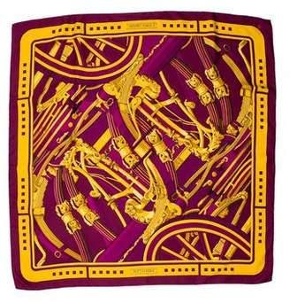 Hermes Rythmes Silk Scarf