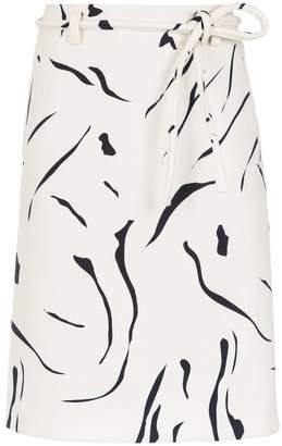 Egrey printed skirt
