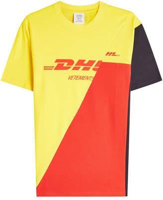 Vetements DHL Printed T-Shirt