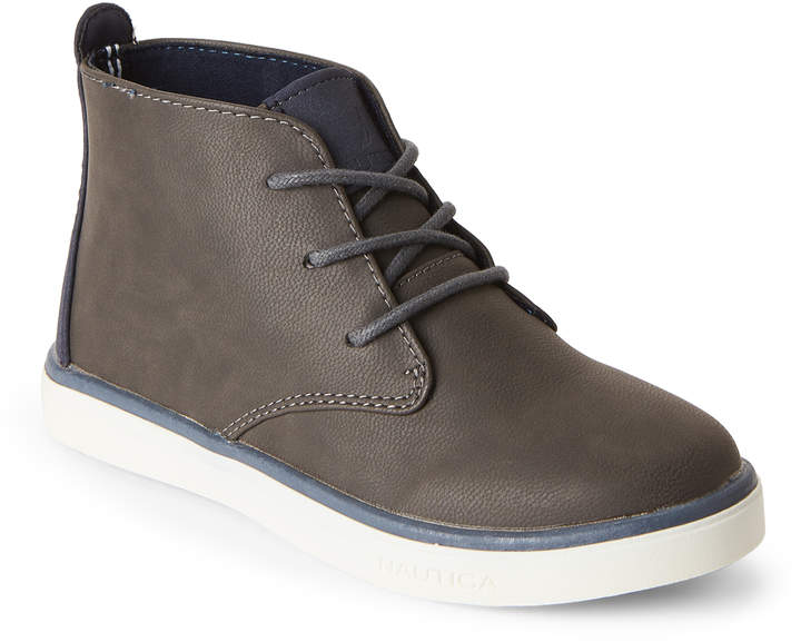 Kids Boys) Grey Pierson Chukka Sneakers