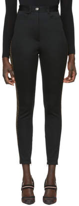 Fendi Black Jersey Forever Trousers