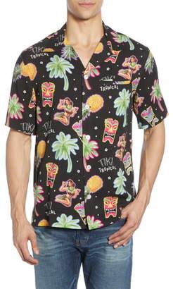NIKBEN Tiki Tropical Print Shirt