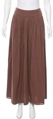 agnès b. A-Line Midi Skirt