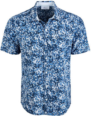 Greg Norman Attack Life by Men Oakhill Floral Graphic Shirt