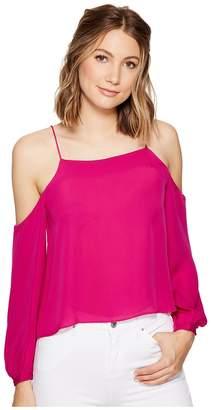 Nicole Miller Nicola Silk Blouse Women's Blouse