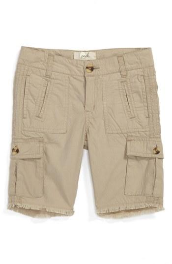 Peek 'Adams' Shorts (Toddler Girls & Little Girls)
