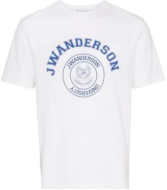 J.W.Anderson short sleeve logo printed t-shirt