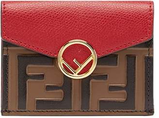 Fendi F micro trifold wallet