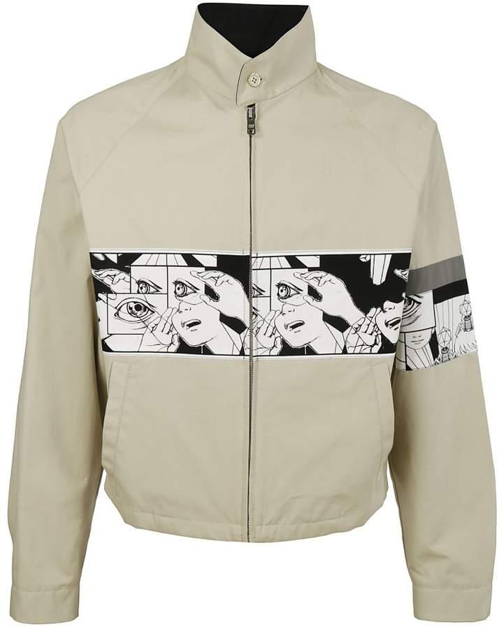 Comic Book Print Jacket