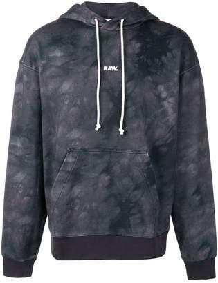 G Star Jaden Smith Collab logo print hoodie