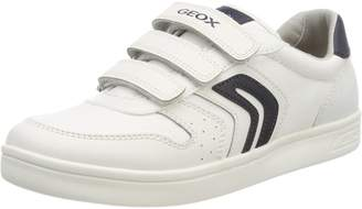 Geox Boy's J KOMMODOR BOY Sneakers, White/Navy