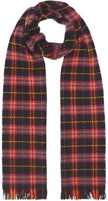 Burberry Check Merino Wool Scarf
