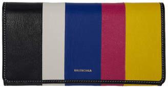 Balenciaga Multicolor Bazar Continental Wallet