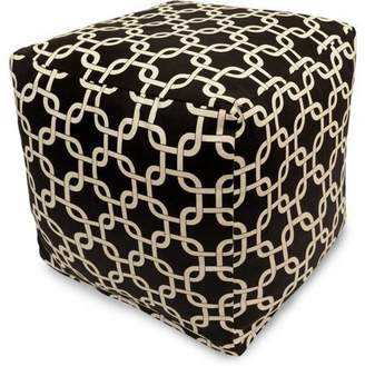 Generic Majestic Home Goods Links Indoor/Outdoor Bean Bag Cube, Multiple Colors