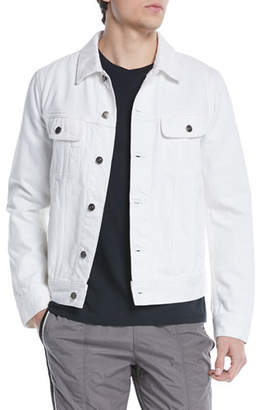Vince Men's Denim Trucker Jacket