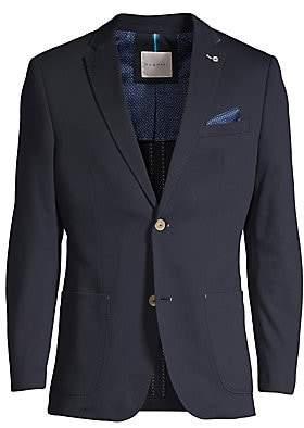 Bugatti Men's Modern Fit Jersey Sports Jacket